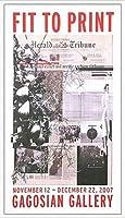 ポスター アーティスト不明 ハーレー Fit to Print2007 collage 額装品 アルミ製ハイグレードフレーム
