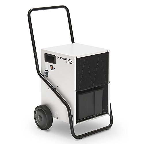 TROTEC Luftentfeuchter TTK 170 S | Raumgrößen bis 600 m³ | Entfeuchtungsleistung max./24h: 50 Liter | Einstellbarer Hygrostat