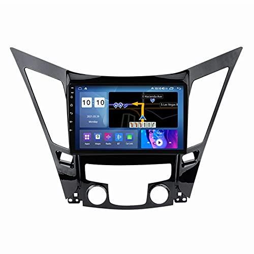 ADMLZQQ para Hyundai Sonata 2011-2015 Android 10.0 In-Dash Car Stereo Radio, Pantalla Táctil 9 Pulgadas con Bluetooth Carplay FM Am RDS DSP GPS Control del Volante Cámara Trasera,M500s 8core 4+64g