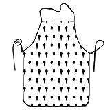 Yuanmeiju Delantales The Seven Daily Hobbit MealsDelantal for Cooking Gardening Waterproof Bib BBQ Unisex Durable Creative Pinafore