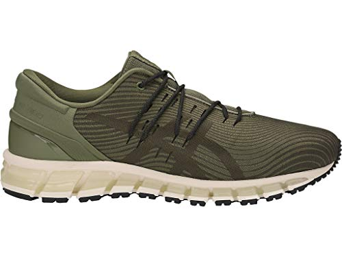 Asics Gel-Quantum 360 4 - Zapatillas de correr para hombre, Azul (Irvino/piedra marrón.), 42.5 EU