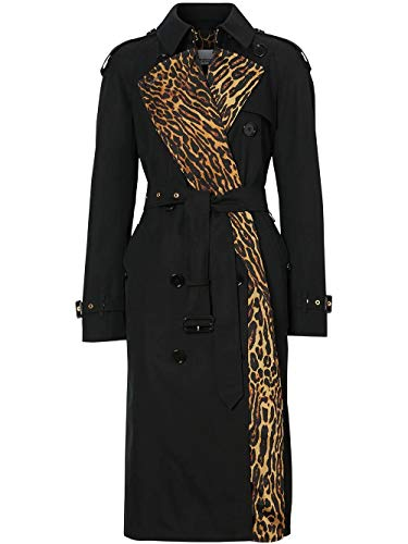 BURBERRY Luxury Fashion Damen 8024437 Schwarz Trench Coat |