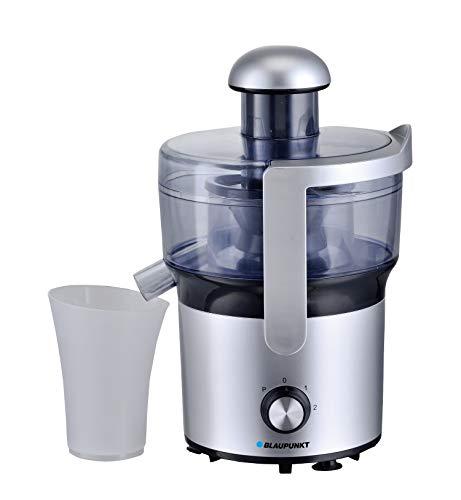 Blaupunkt EJE201, Licuadora Extractor de Jugos para Frutas y Verduras, Libre de BPA; Control electrónico; Acero Inoxidable 450W; 0,3L