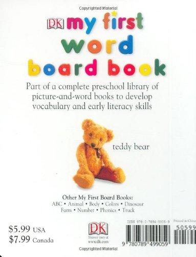 『My First Word Board Book (My 1st Board Books)』の1枚目の画像