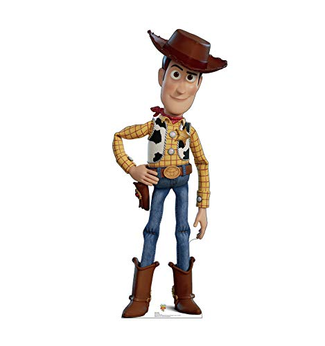 Advanced Graphics Woody Life Size Cardboard Cutout Standup - Disney Pixar Toy Story 4 (2019 Film)