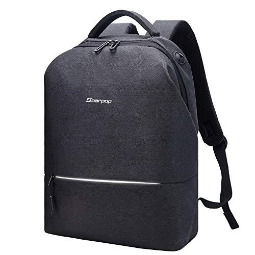 Soarpop Zaino per Laptop con Porta USB, 15,6 inches BB4508DGY