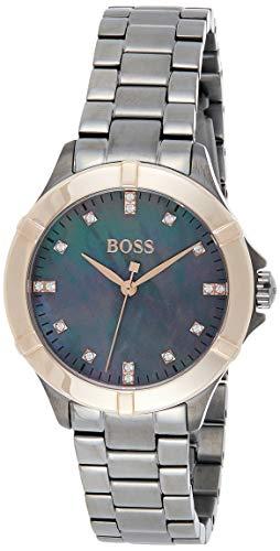 Hugo BOSS Reloj Analógico para Mujer de Cuarzo con Correa en Acero Inoxidable 1502470
