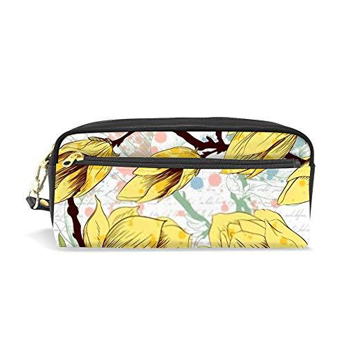 NQEONR Sports Bag for Girls Blue Spring Romantic Light Flower Durable Water Resistant Classic Travel Backpack for Women Mens Casual Duffle Bag Medium Backpack Travelers Bag