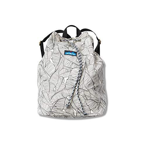 KAVU Eco Rucksack Organic Lightweight Cotton Backpack-Palm Shade