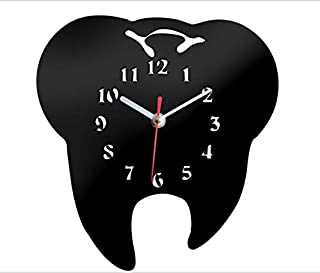 Best tooth shaped wall clock Reviews