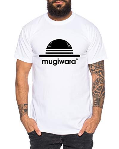 Tee Kiki Mugiwara - Camiseta de Hombre Son Ruffy Luffy Saitama One Dragon Goku Ball Vegeta Punch Man Piece