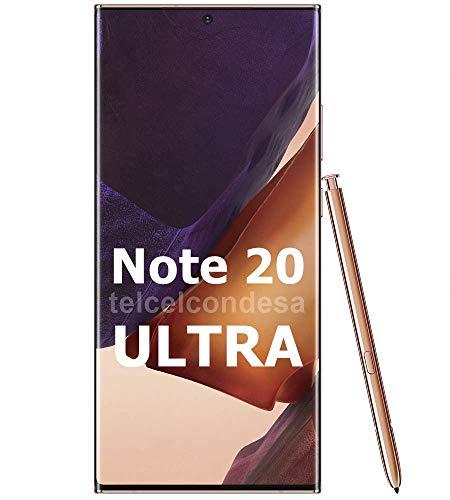 Samsung Galaxy Note 20 Ultra 256GB N985F/DS 8GB RAM S-Pen 6.9' Triple Camera GSM LTE Factory Unlocked Smartphone (International Version) (Mystic Bronze)