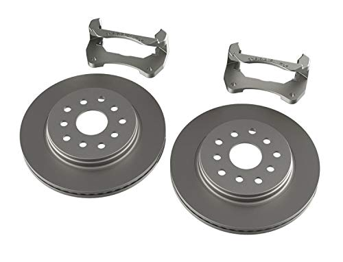 TeraFlex 4303480 Front Performance Rotor Kit with Plain Rotors