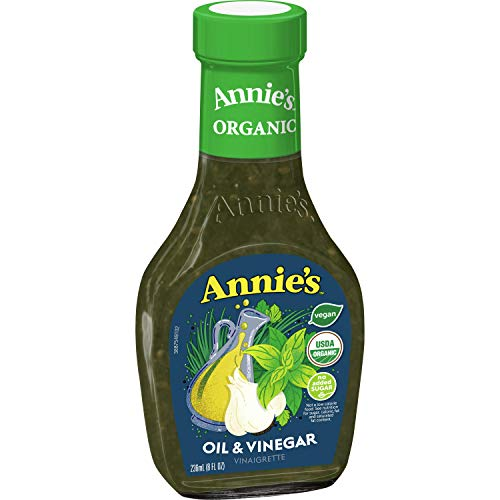 Annie's Oil & Vinegar Salad Dressing Certified Organic, Non-GMO, 8 fl oz