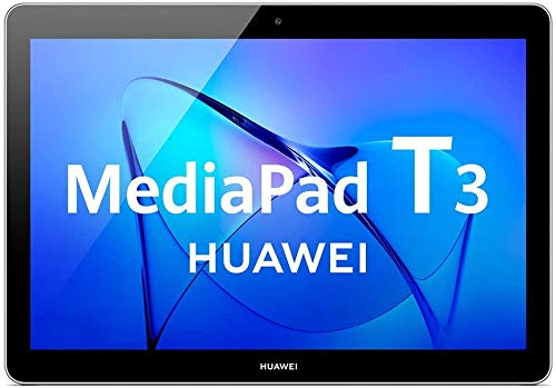 HUAWEI MediaPad T3 10 – 9.6 Inch Android 8.0 Tablet, HD IPS Display with Eye-Comfort Mode, 32GB, Dual Stereo Speakers, 4800mAh, up to 9.8 hours video playback, Children's Corner, Space Gray,?Canadian Warranty?