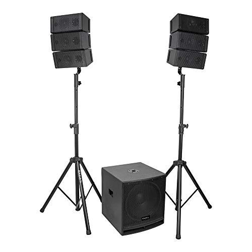 Ibiza Sound 2.1 Sound Systeem met 15