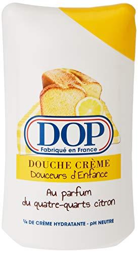 Dop Crema de Ducha placeres de la infancia en el perfume Quatre Quarts de limón 250 ml