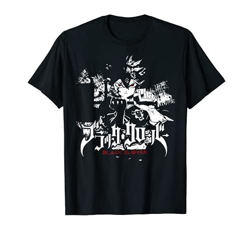 Retro Clover Art Black Anime Manga Character Asta Essential T-Shirt