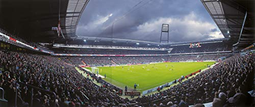 Bremen Stadion Panorama - Poster 120 x 50 cm - hochwertiger FineArtPrint