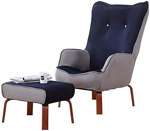 Sillón plegable y ajustable para ocio, sillón ergonómico tapizado, silla de invitados, silla de comedor, silla de oficina, club, recepción, salón, café