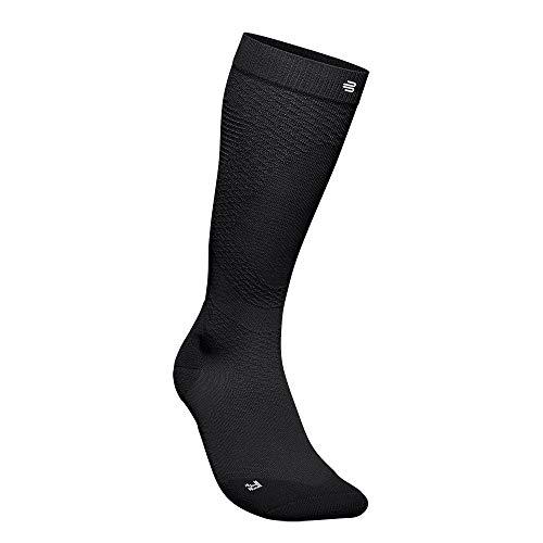 BAUERFEIND Run Ultralight Compression Socks Calcetines de Running, Men's, Negro, S, 44-46