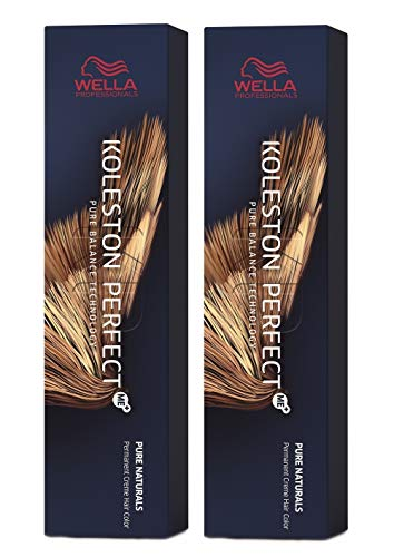 Wella Koleston Perfect Me+ KP Pure Naturals 7/00 Lot de 2 boîtes de conservation Blond moyen naturel
