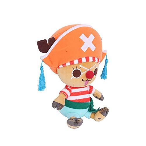 Tony Tony Chopper Plüschpuppe, Chopper Kuscheltier/Cartoon Soft Toys für Kinder Sammler-Geburtstagsgeschenkpuppe für Kinder