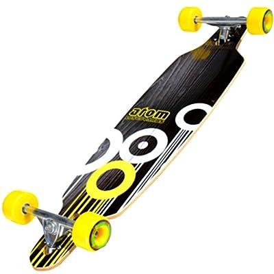 "Atom 36"" Drop Through Longboard - Yellow / Gelb"