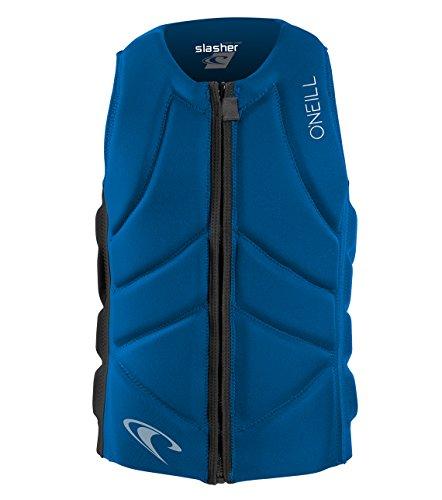 O'Neill Wetsuits Men's Slasher Comp Life Vest, Ocean/Black, Large