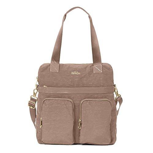Kipling Camryn Solid Laptop Handbag, New Brown