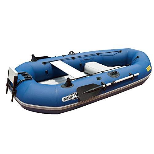 Kayaks de pesca inflables portátiles de excursión con palas de aluminio y bomba para 2 personas, montaje en travesera T18 motor resistente al desgarro plegable