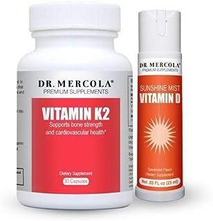 Mercola - Vitamina K2 y Vitamina D Spray 1-Month Fuente Cada