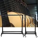 Gitarrenständerhalter, 3/5 Fach Multiple Gitarrenständer Bassgitarrenständer E-Gitarre Ständer Guitar Stand Gitarrenständer für alle...
