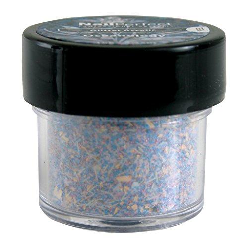 Nail Perfect - #014 Oceanolgy Color & Glitter Acrylic Collection - Résine colorée