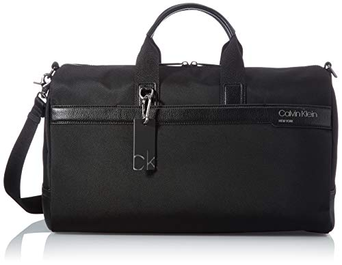 Calvin Klein, Weekender para Hombre, Negro, 28 Inches, Extra-Large