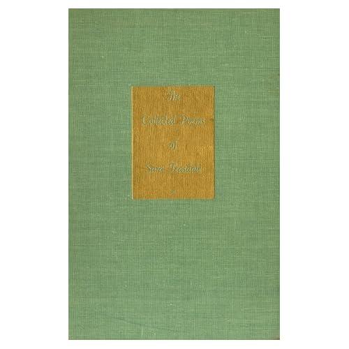Sara Teasdale Poems 3