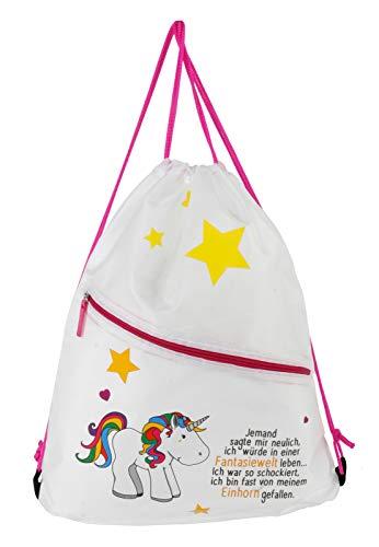 Gym Bag Einhorn Einhorn mit Spruch - EIN Musthave für kleine und große Einhorn-Fans