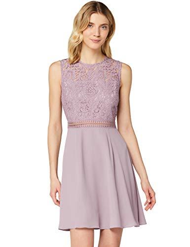 Amazon-Marke: TRUTH & FABLE Damen kleider Jcm-42470, Lila (lilafarben), 34, Label:XS