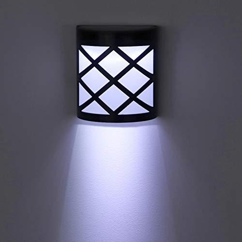 Emoshayoga Lámpara de jardín Impermeable Duradera Que Ahorra energía Luz LED para Proporcionar iluminación para Cubiertas, muelles(Zhengbai)