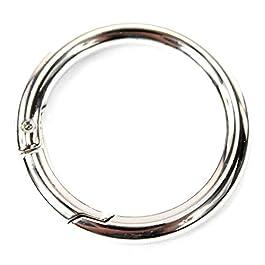 Pièces anneaux mousquetons fournitures d'artisanat pour les sacs à main