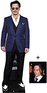 Fan Pack - Johnny Depp Lifesize Cardboard Cutout / Standee / Standup - Includes 8x10 (20x25cm) Photo