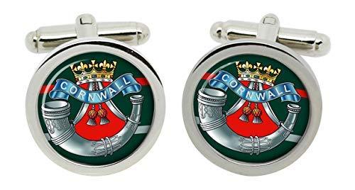 Gift Shop Duke von Cornwall's Leichte Infanterie, Britische Armee Manschettenknöpfe in Box