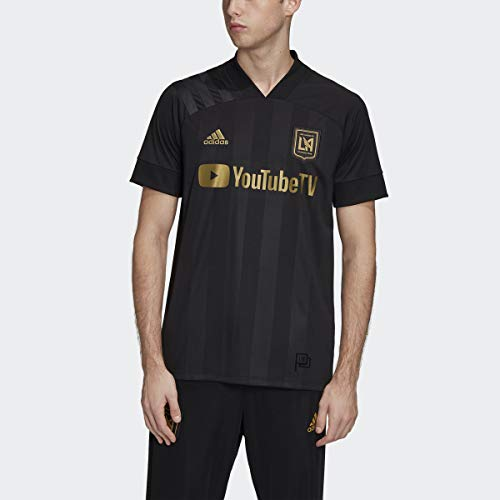adidas Los Angeles FC Home Jersey Men's, Black, Size L