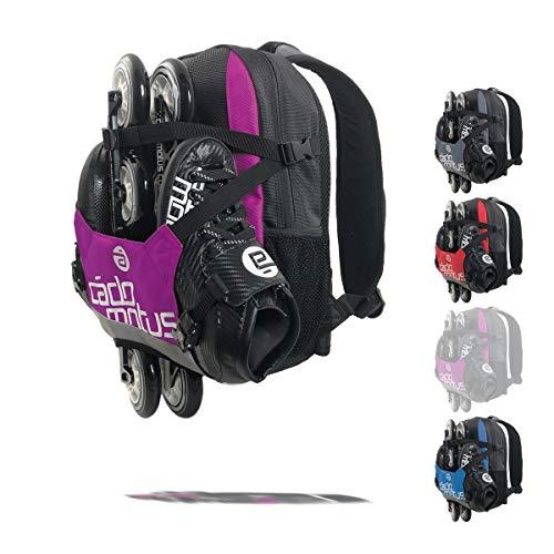 Cádomotus Urban Flow Gear Bag | 15L Wettkampf Sport Rucksack für Kinder | Ultraleichte Sporttasche zum Skaten, Eislaufen und Radfahren | 6 Fächer | Starkes Nylon | 40x30x10 cm