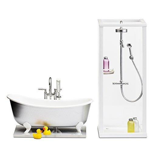 Lundby Smaland Shower Plus Bath Playset