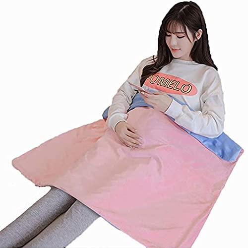 SHUNFENG-EU Manta Anti-radiación, protección contra el Embarazo, Usar como Dormir, Cubierta de Cochecito, 35 x27 (Size : 90x70cm)