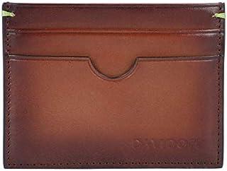 DAVIDOFF 4CCVenice - Funda para tarjetas de crédito, color marrón