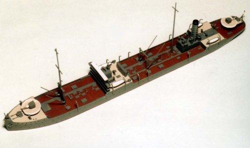 1/700 Japanese Navy refueling ship Shiretoko W60 (japan import)