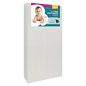 Milliard Premium Memory Foam Hypoallergenic Infant Crib Mattress and Toddler Bed Mattress with Waterproof Cover Flip Dual Stage System - 27.5 inches x 52 inches x 5.5 inches
