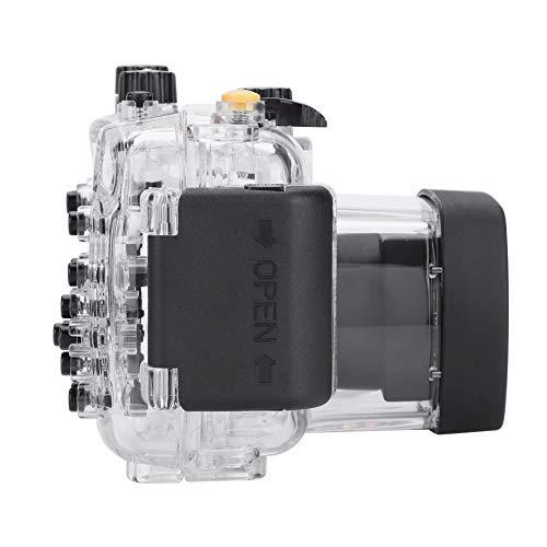 ROMACK Carcasa subacuática Transparente en Color para Canon G11 G12 Carcasa para Canon para cámaras Canon G11 G12